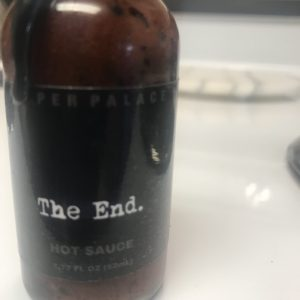 The End Hot Sauce from the Pepper Palace